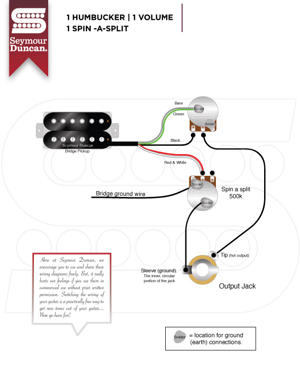 SeymourDuncan_1H_1V_1SSPL guitar wiring guitar nucleus jimmie vaughan strat wiring diagram at mifinder.co